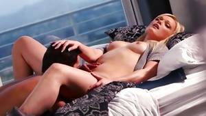 This valuable fair-haired darling is asking her bf to permeate her cunt gentler