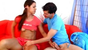Brown-haired flavourful classy whore is going turned-on in the time this she's pounded with a huge pecker