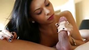 Fully nude furious actress gulfing on big ramrod