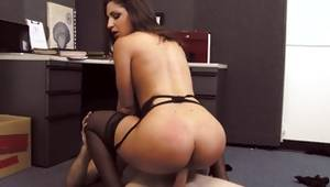 Slut with faultless ass got her pissed perverse