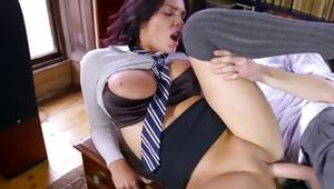 Precious harlot got her used disobedient