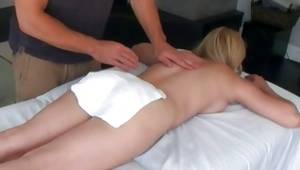 Unmerciful creature is provocative massaging her great body